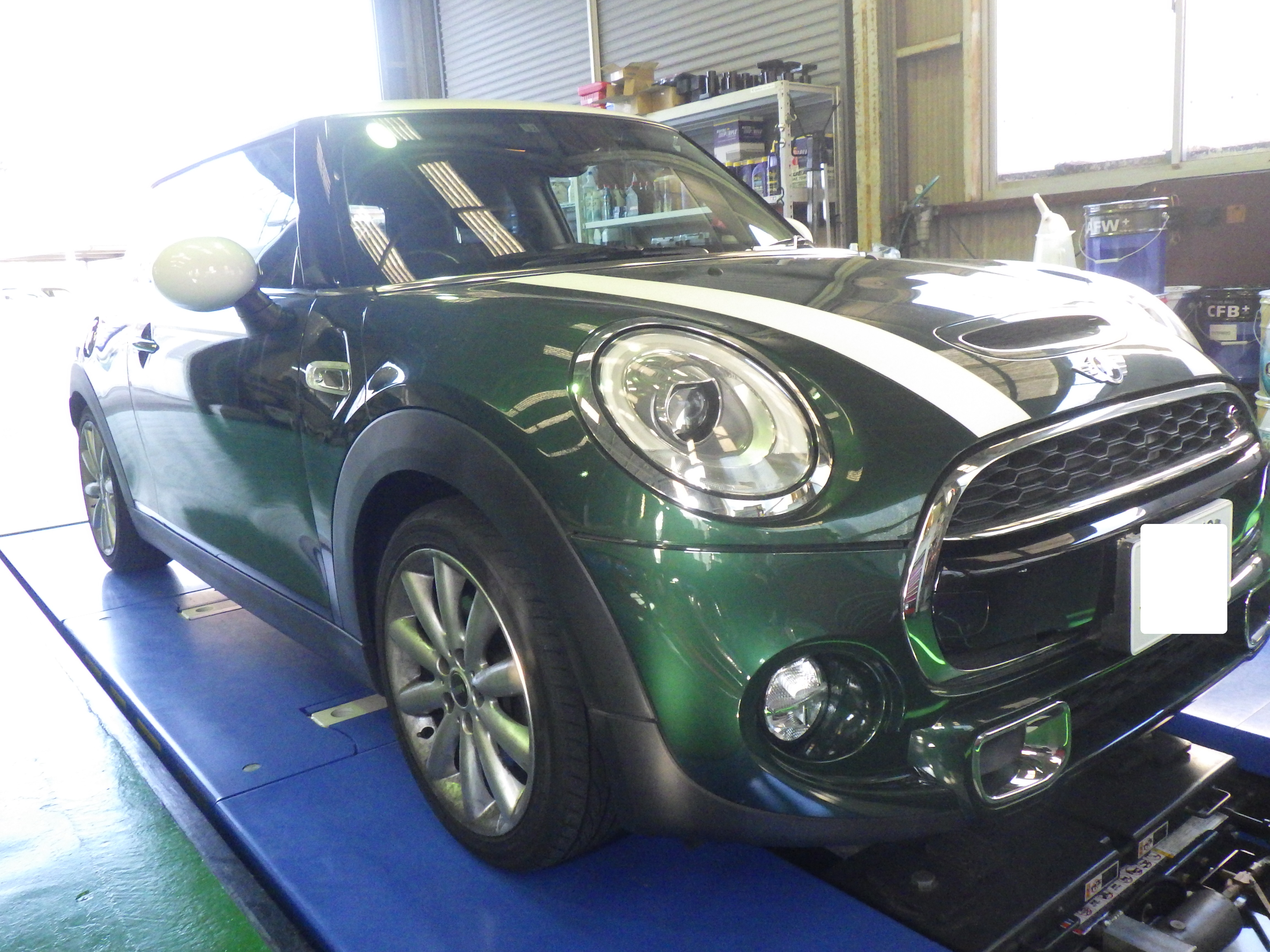 BMW MINI(F56) ATF交換・他 前編